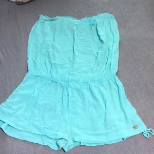 Turquoise victoria secret cover up